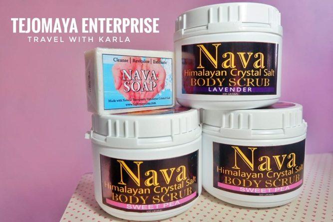 Nava Himalayan Crystal Salt Body Scrub Review
