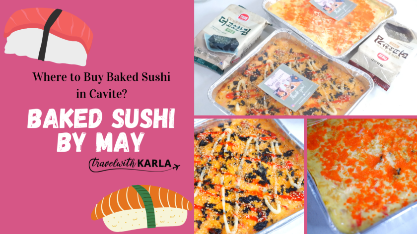 Baked Sushi in Cavite