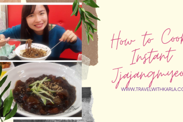 How to Cook Instant Jjajangmyeon
