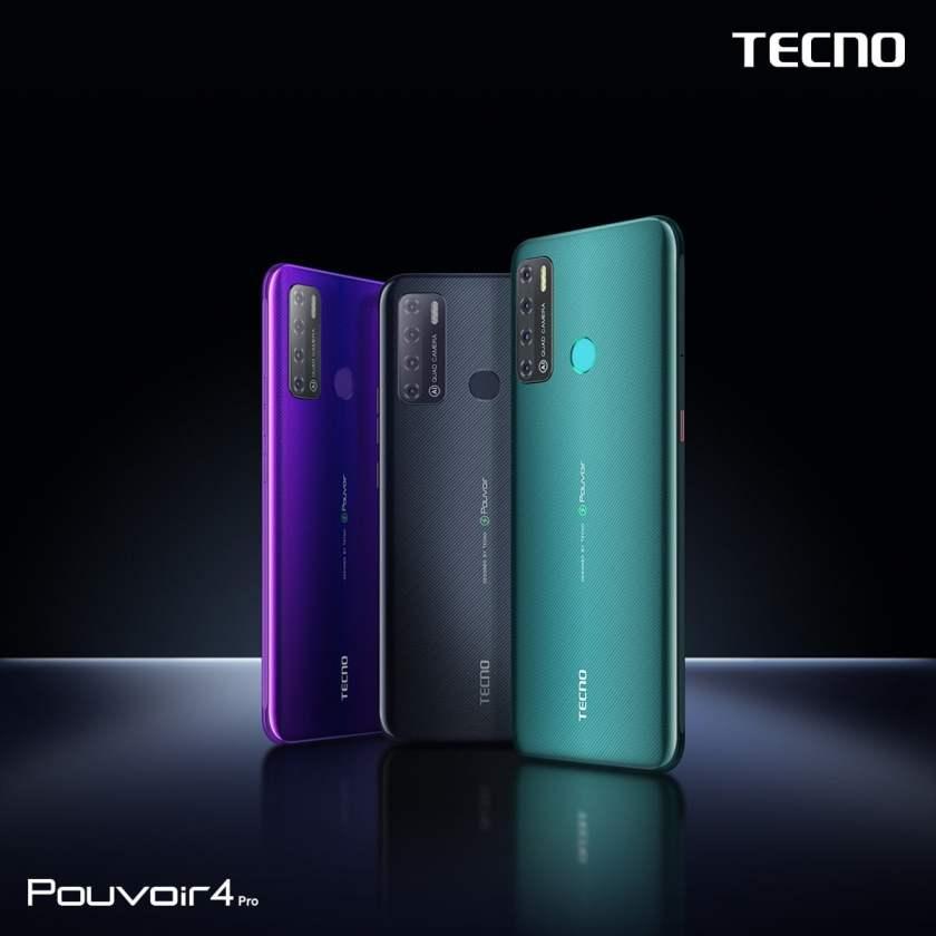 TECNO Mobile launched the Pouvoir 4