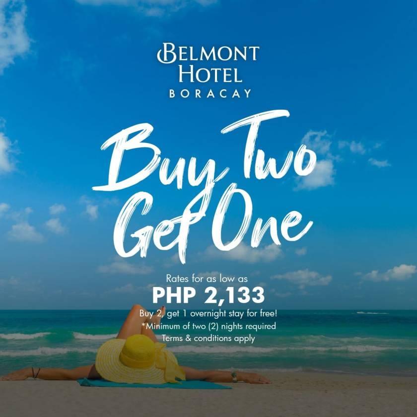 Belmont Hotel Boracay Promo