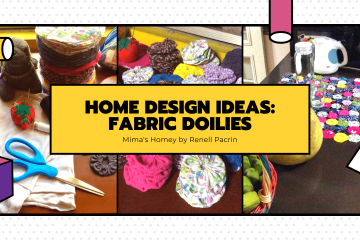 Home Design Ideas: Fabric Doilies