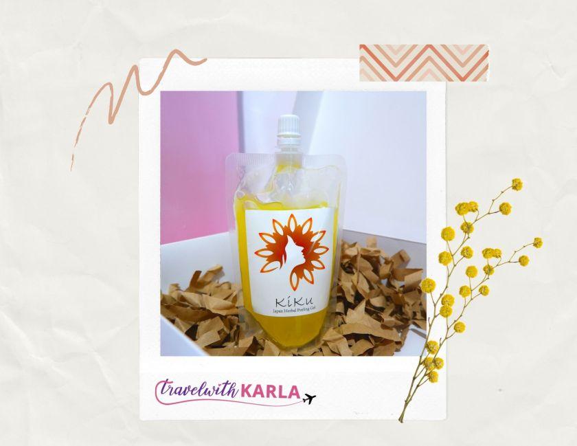 KIKU Japan Herbal Peeling Gel