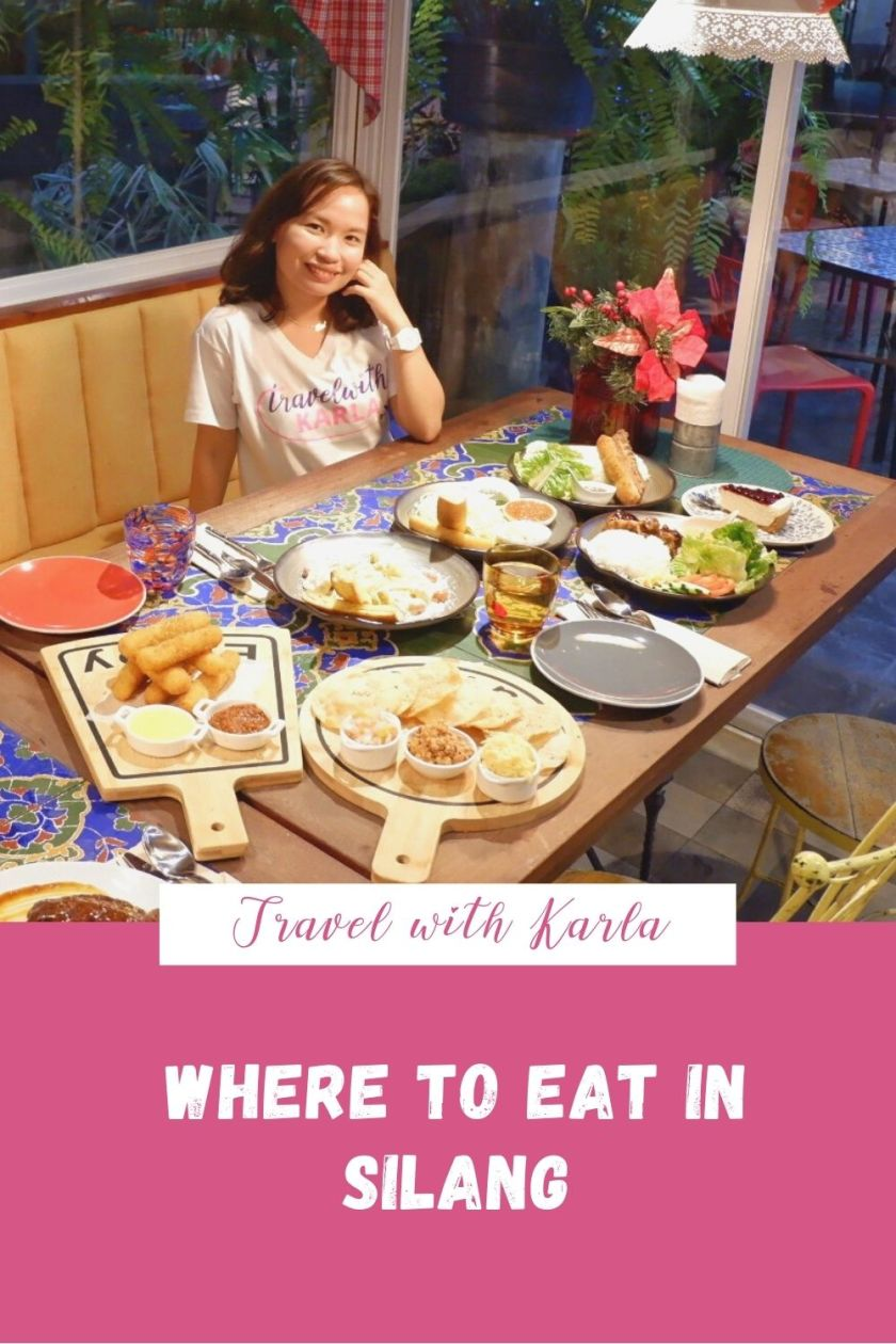 Where to Eat in Silang