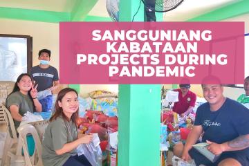 Sangguniang Kabataan Projects during Pandemic