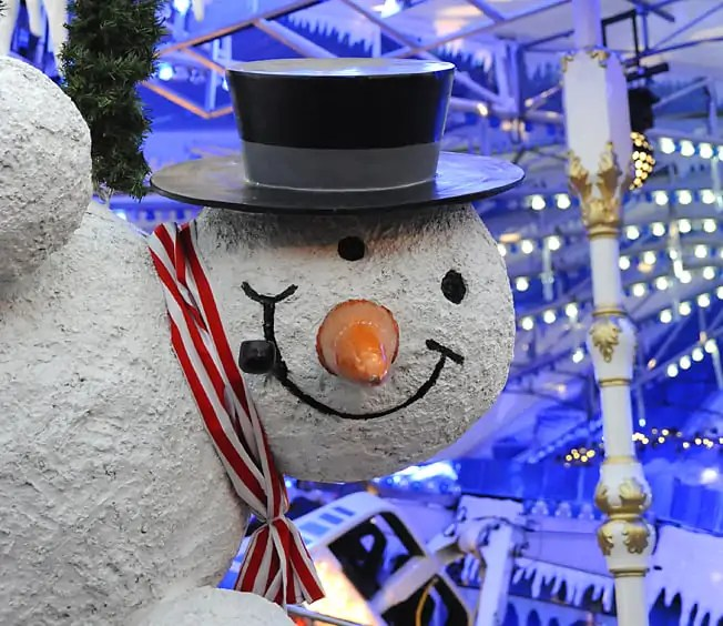 New Year's Eve at London's Winter Wonderland, Hyde Park