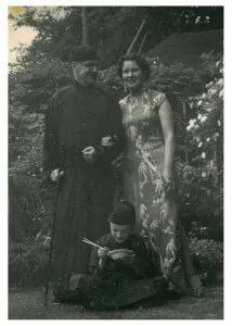 My grandparents and my father