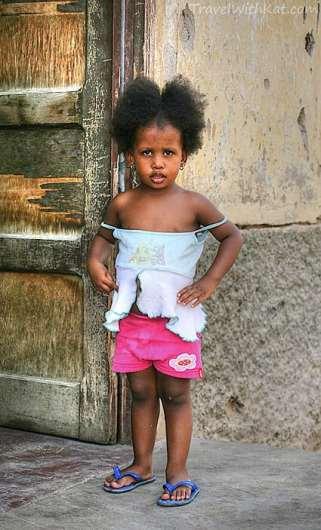 Girl in Mindelo, São Vicente
