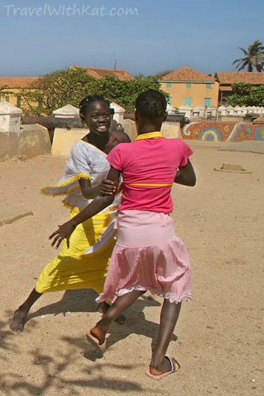 Goree Island girls