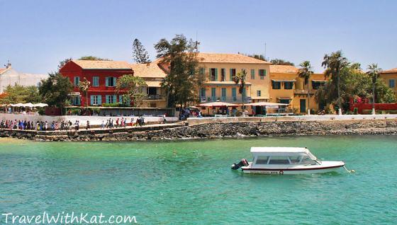 Goree Island restaurant