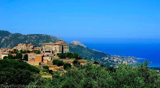 The hilltop village of Pigna