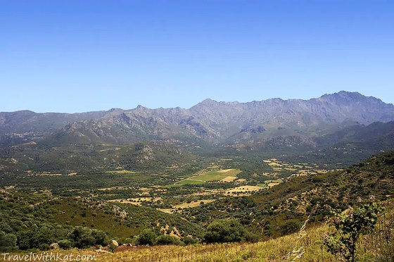 The view from the village of Sant' Antonio