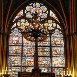 18 Notre Dame window