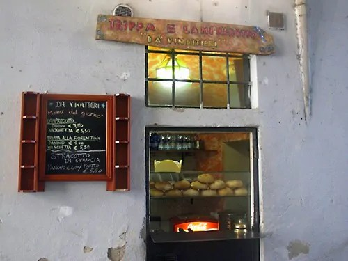 street food of Florence