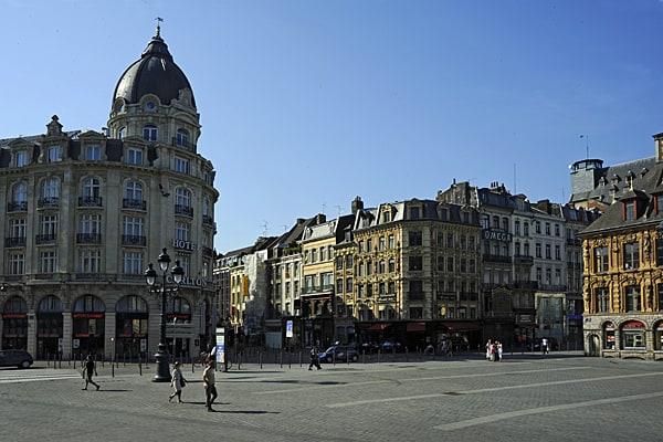 Place du Théatre, Lille