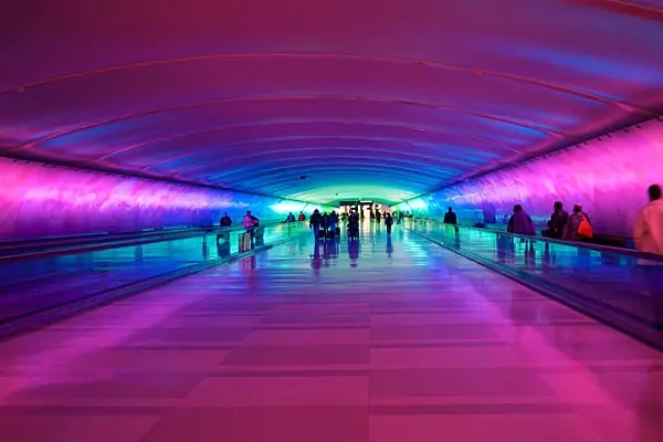 Detroit airport, favourite airports, beautiful airports