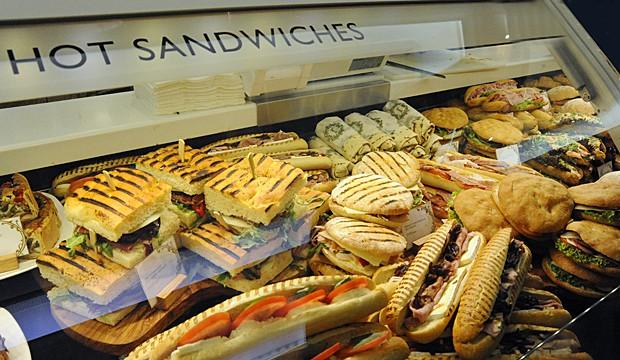 Harrods sandwiches