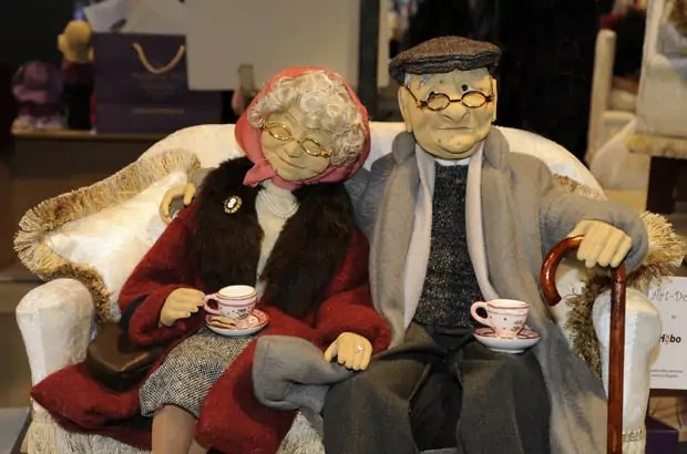 Christmas shopping in London, Art Dolls by Hobo