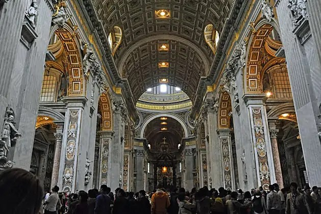 St Peter's Basilica, Rome city breaks