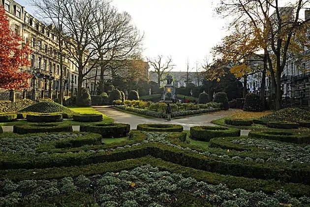 Petit Sablon Square (with 48 statues representing different professions around the edge of the park)