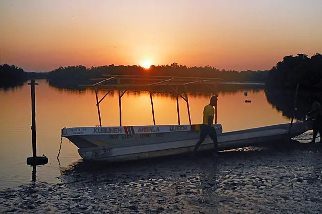 Kubuneh sunset, The Gambia