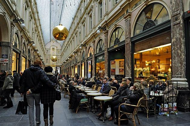 Galeries Royals, Brussels, Belgium