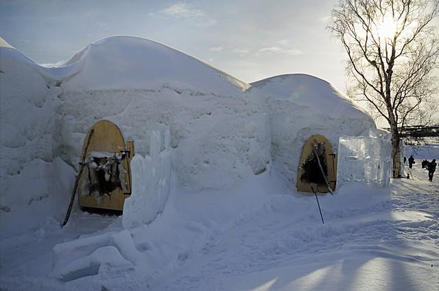 Kirkiness Snow Hotel, Norway