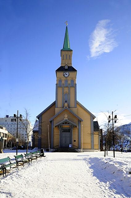 Tromso, Norway, Arctic town