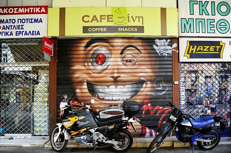 Alex Martinez, Street Art in Athens