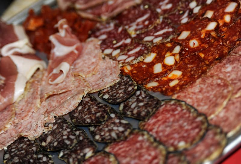 best things to eat in italy, salami