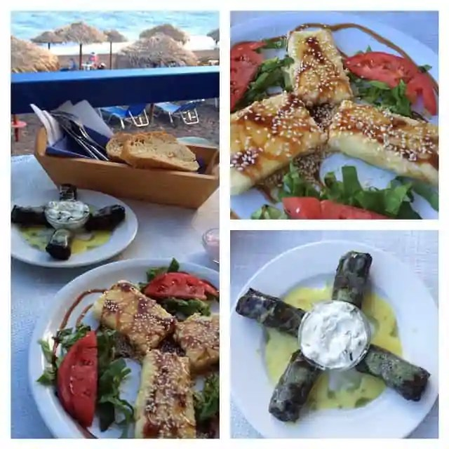 Things to eat on Santorini, Greece