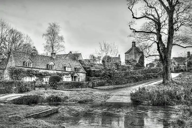 Upper Slaughter, Cotswolds, England