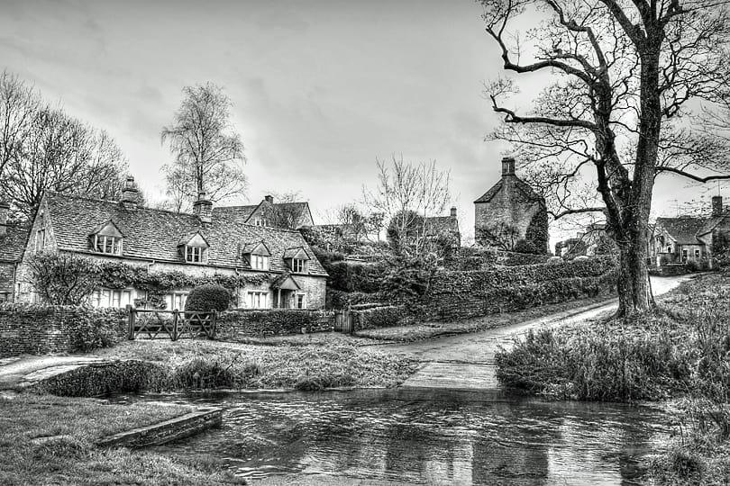 Upper Slaughter, Cotswolds, England