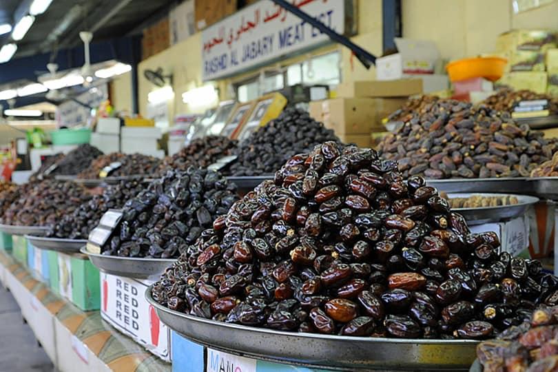 Dates Dubai market