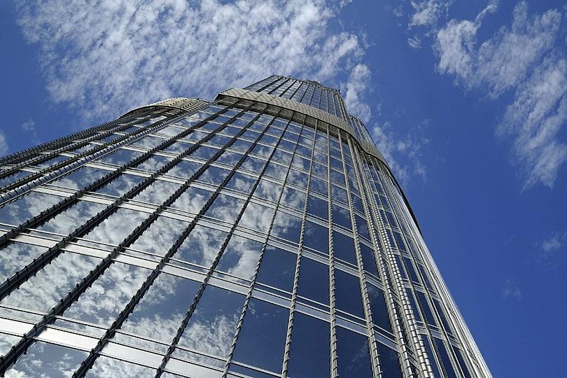 Burj Khalifa, the tallest building in the world, Dubai