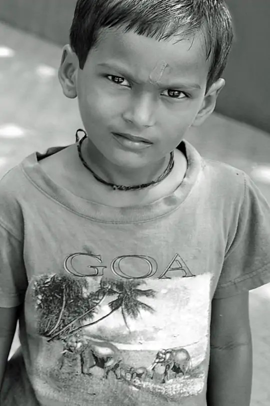 From a collection of portraits from Goa, India