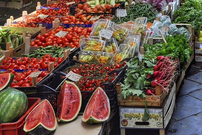 Fruit at Catania Market, Sicily, Italy
