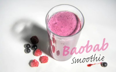 Baobab smoothie (healthy, delicious and the answer to poverty in Africa?)