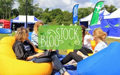Win two tickets to BlogStock (and join me in the tipi)