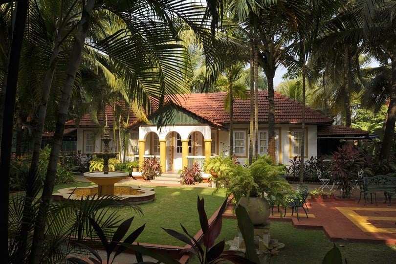 Casa Anjuna, one of my favourite hotels in Goa