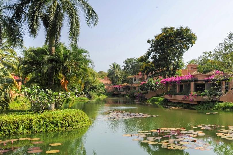 The Leela in southern Goa