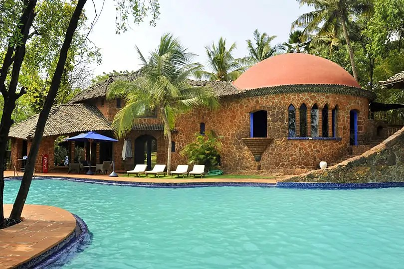 Top 6 hotels in Goa - Nilaya Hermitage