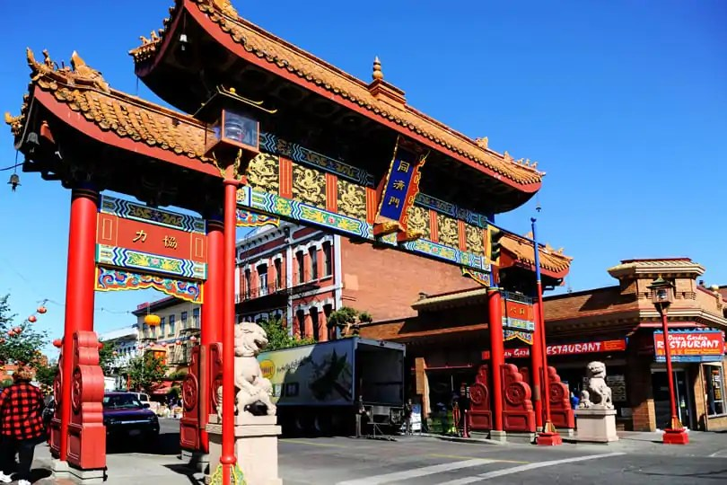 Chinatown in Victoria, British Columbia, Canada