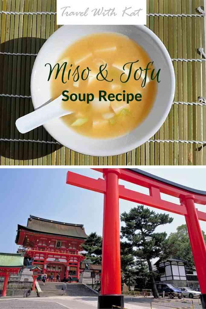Miso and tofu soup recipe