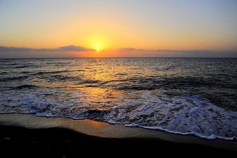 Sunrise on Santorini, Greece
