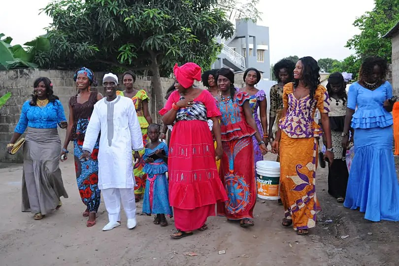A Traditional West African Wedding