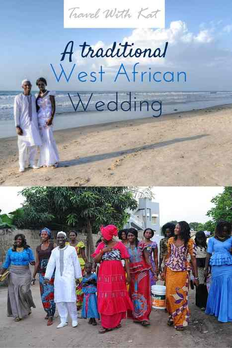 A traditional West African wedding in The Gambia