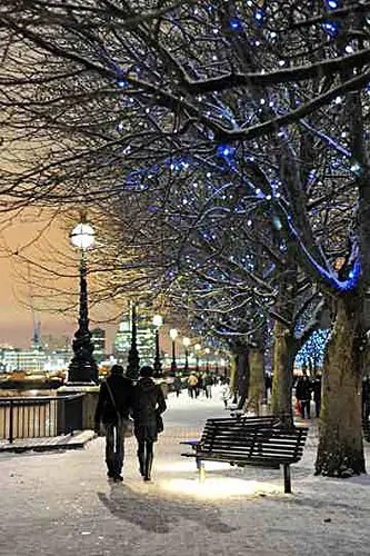 London at Christmas