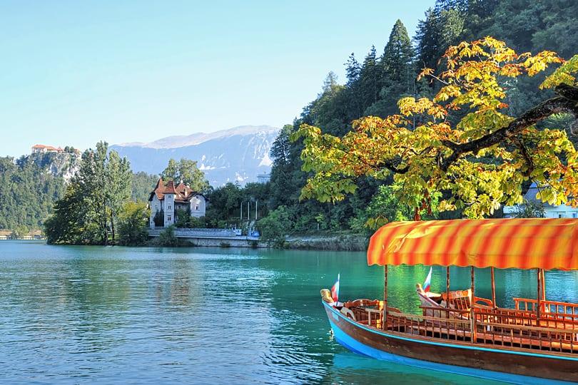 Pletna boats of Lake Bleed