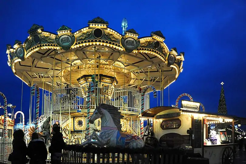 Hyde Park's Winter Wonderland, London